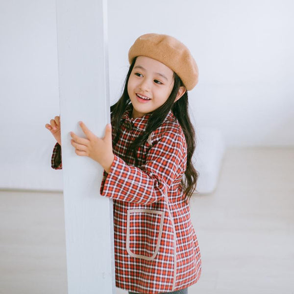 Alex + Nova Jennie Plaid Coat - Alex + Nova