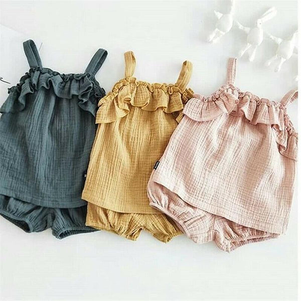 Alex + Nova Jisoo Ruffles Clothing Set - Alex + Nova