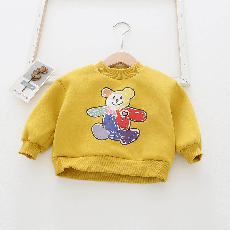 Alex + Nova Jolly Cartoon Printed Sweatshirt - Alex + Nova