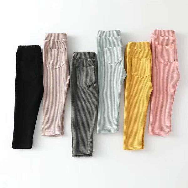 Alex + Nova Julia Solid Color Basic Pants - Alex + Nova