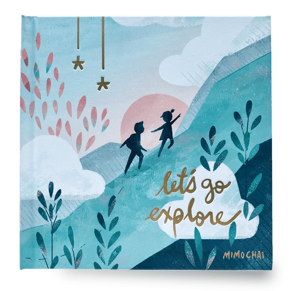 Mimochai Let's Go Explore [Hardcover Book] - Alex + Nova