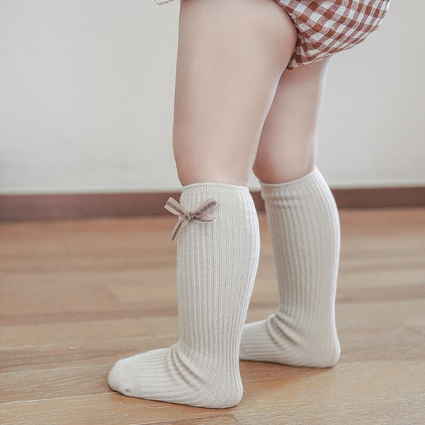 Alex + Nova Lovely Bow Knee Socks - Alex + Nova