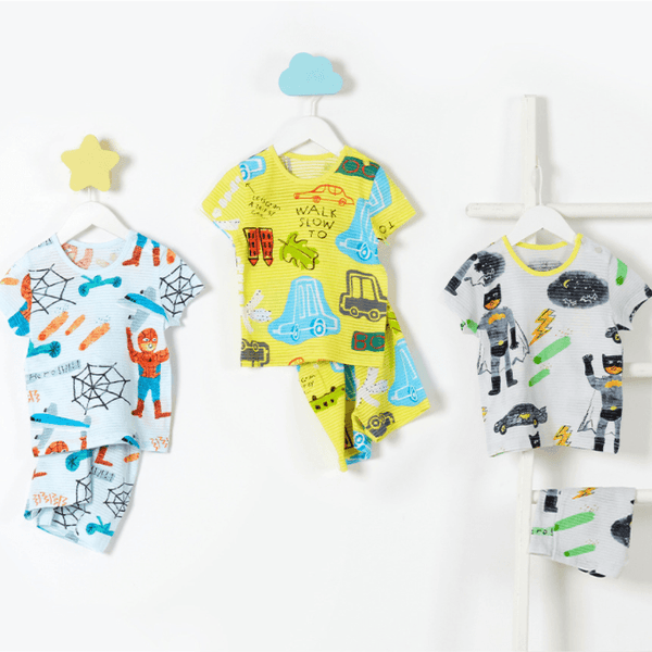 Alex + Nova Organic Cotton Animal Hero Short Playset - Alex + Nova