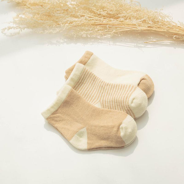 Alex + Nova Organic Cotton Basic Socks [Set of 3] - Alex + Nova