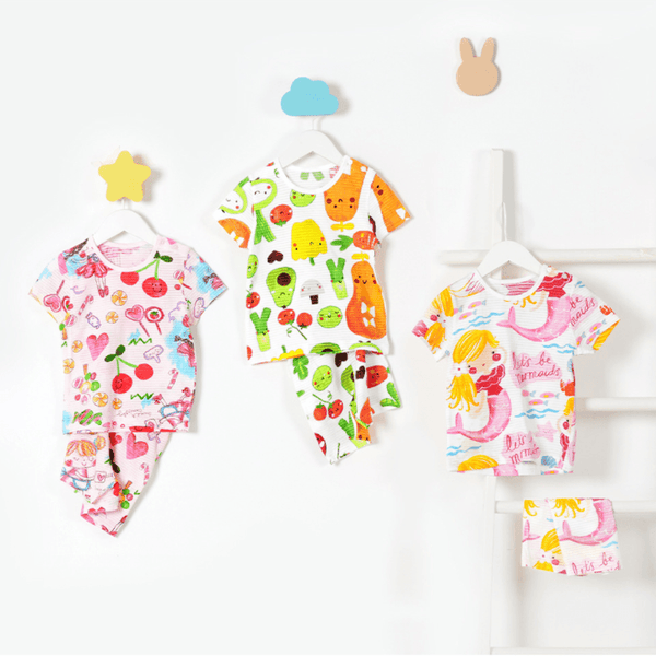 Alex + Nova Organic Cotton Princess Fruits Short Playset - Alex + Nova