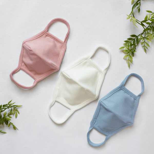 NaturaOrganic Organic Cotton Reusable Face Mask - Alex + Nova