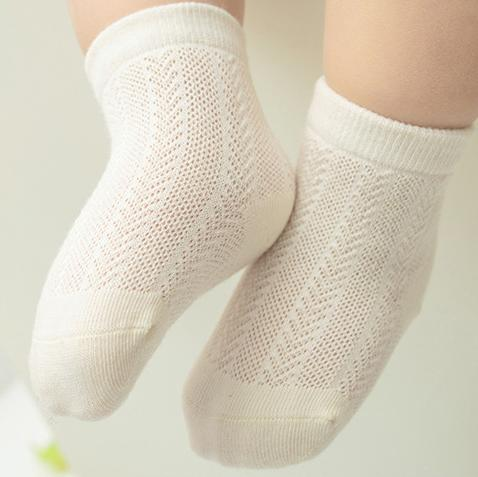 Alex + Nova Organic Cotton Summer Basic Socks [Set of 3] - Alex + Nova