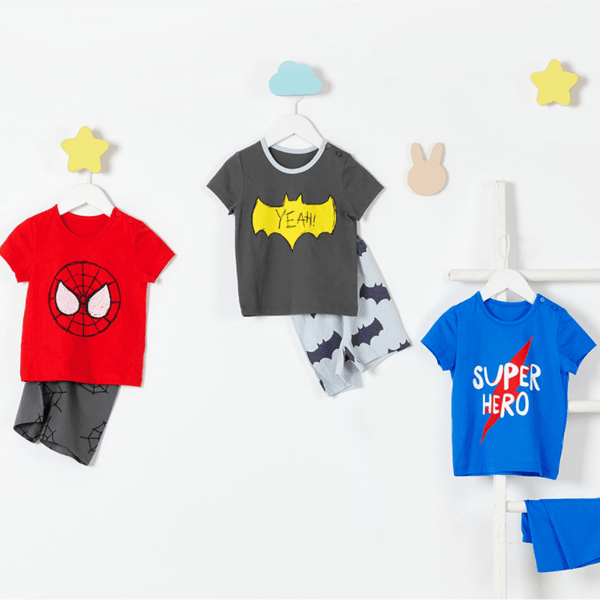 Alex + Nova Organic Cotton Super Hero Playset - Alex + Nova