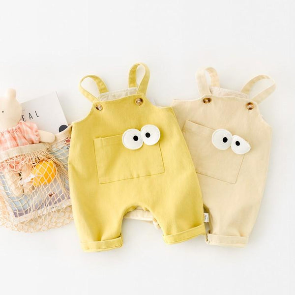 Alex + Nova Pocket Eyes Baby Romper - Alex + Nova