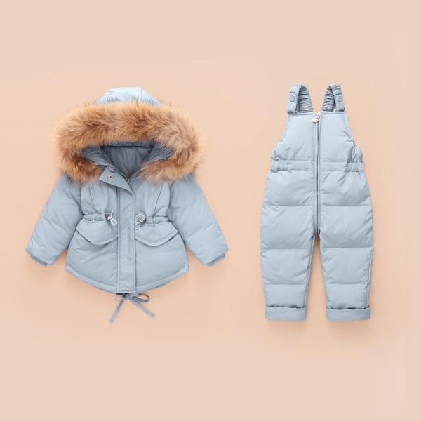 Alex + Nova Polly Hooded 2-Piece Snowsuit Set - Alex + Nova