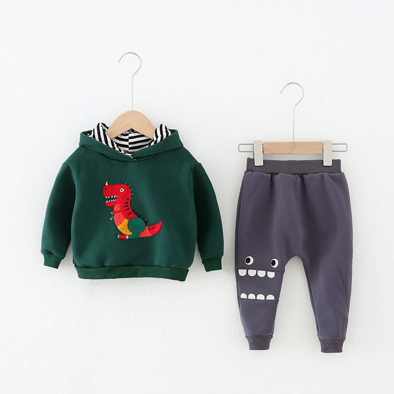 Alex + Nova Rex Dinosaur 2-Piece Clothing Set - Alex + Nova