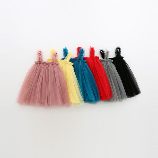 Alex + Nova Rica Sleeveless Tulle Dress - Alex + Nova