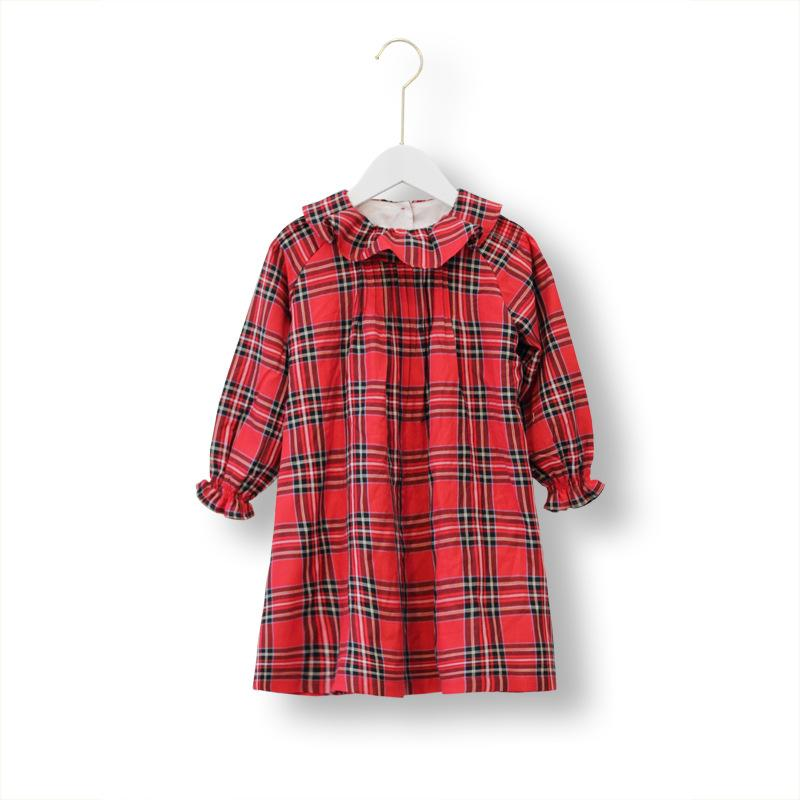 Alex + Nova Scarlett Ruffle Plaid Dress - Alex + Nova