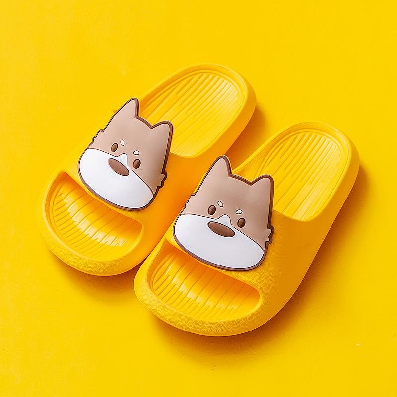Alex + Nova Summer Puppy Kids Slippers - Alex + Nova