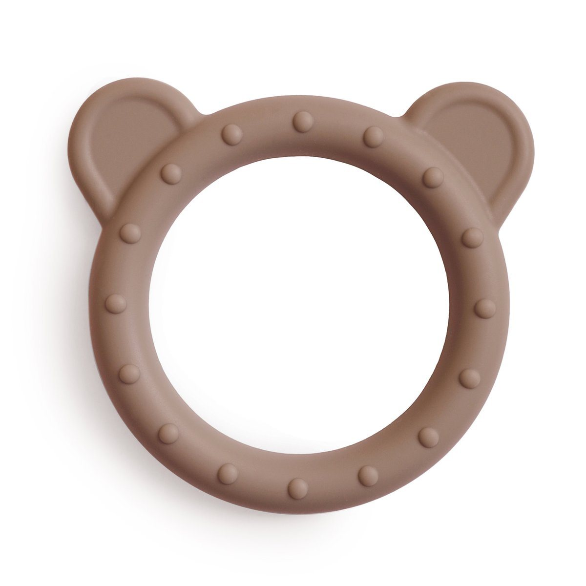Mushie Silicone Bear Teether - Alex + Nova