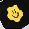 Alex + Nova Smiley Flower Face Printed Top - Alex + Nova
