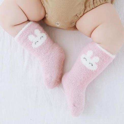 Alex + Nova Soft Color Winter Baby Socks - Alex + Nova