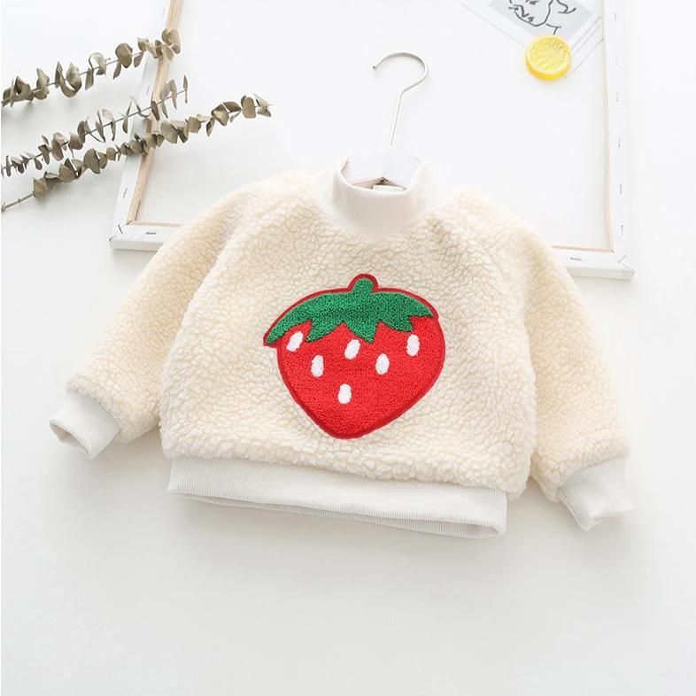 Alex + Nova Strawberry Patch Plush Top - Alex + Nova