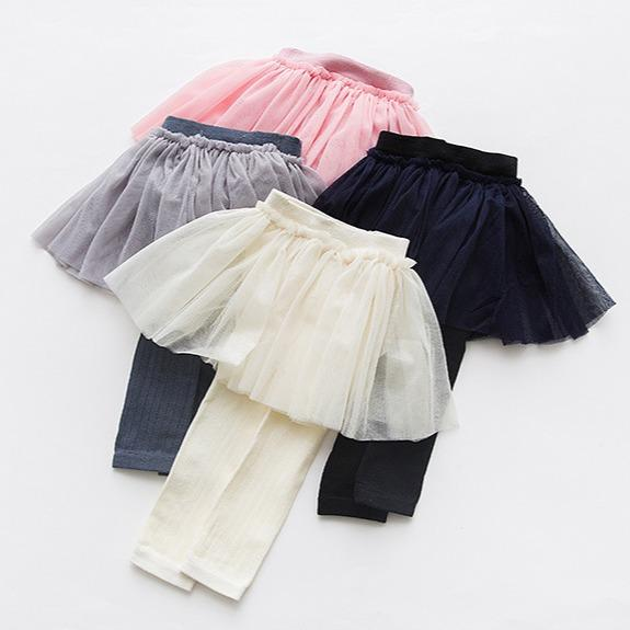 Alex + Nova Viva Tulle Skirt Leggings - Alex + Nova