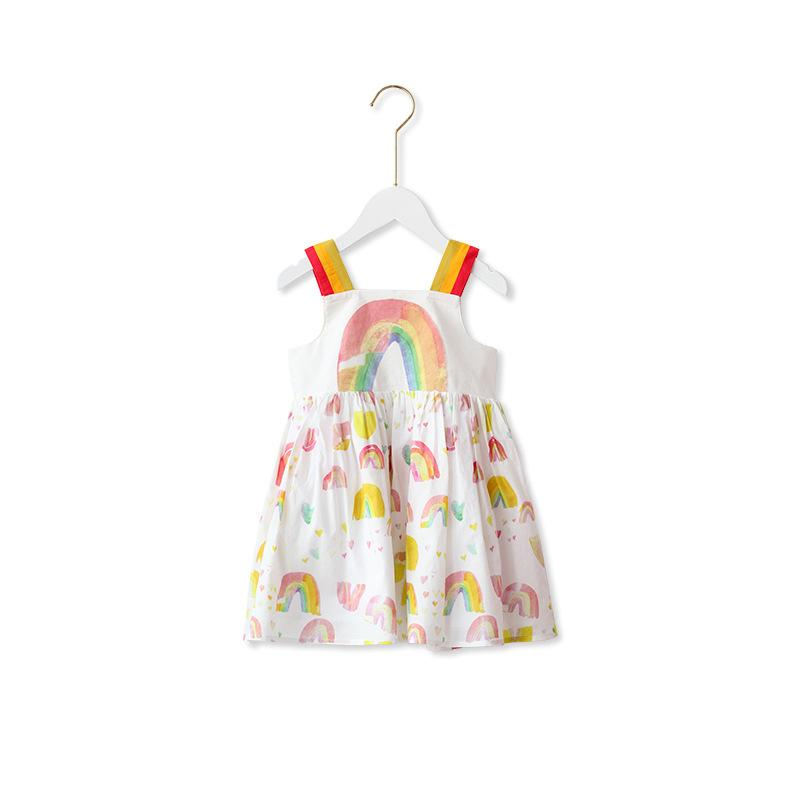 Alex + Nova Watercolor Rainbow Dress - Alex + Nova