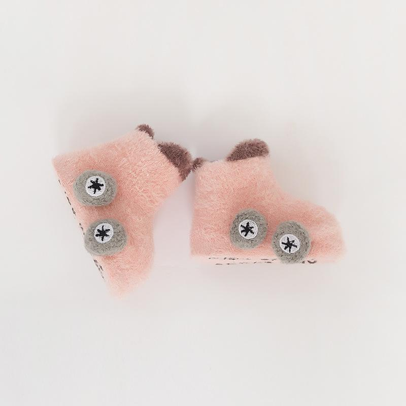Alex + Nova 3D Car Wheels Plush Socks - Alex + Nova