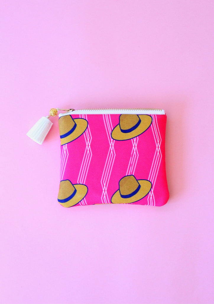 Hats coin pouch
