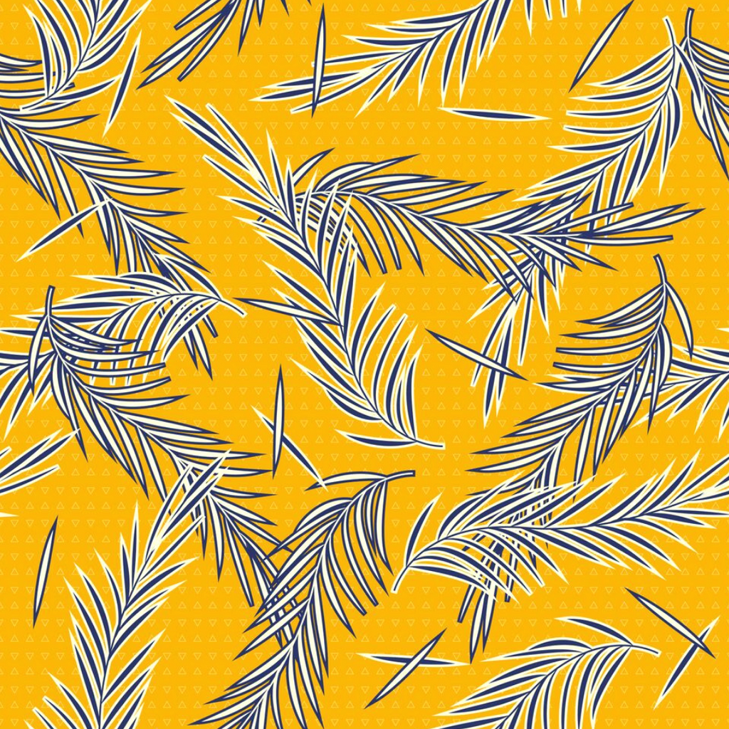 YELLOW LEAVES FABRIC