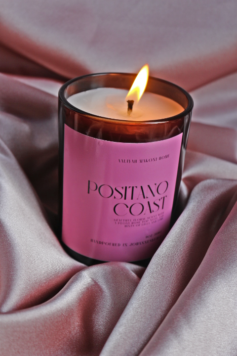 Positano scented candle