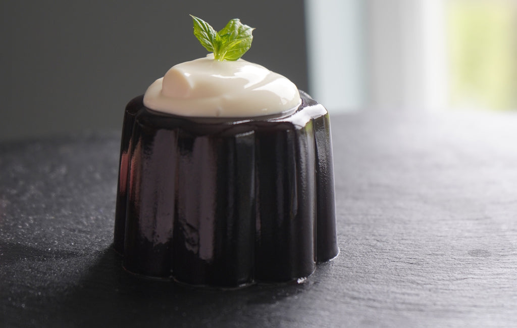 Elderberry Panna Cotta Recipe