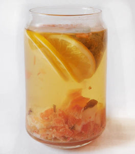 Capuli Ginger Unwind Tea Steeped