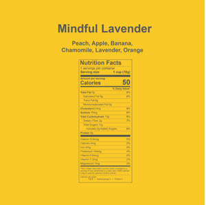 Mindful Lavender  (Edible Fruit Tea)