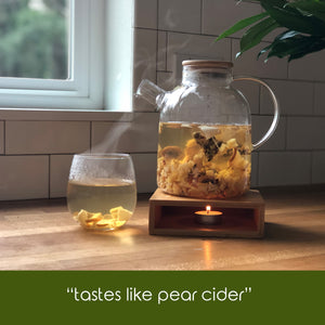 Peaceful Pear  (Edible Fruit Tea)
