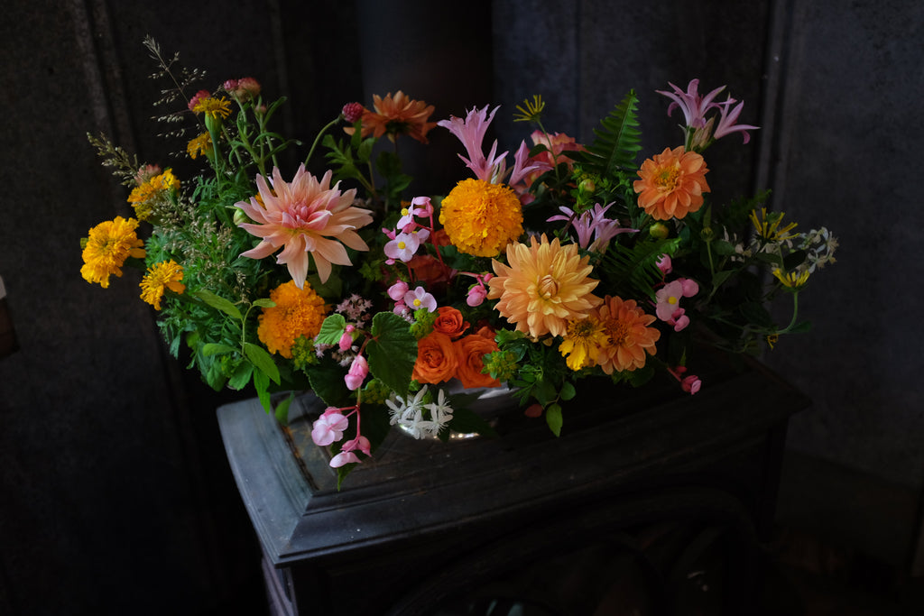 Fall arrangements at Michler's