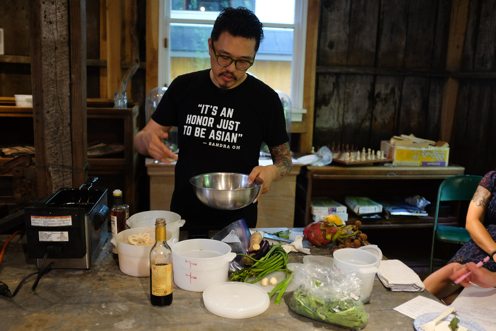 Lecture Recap: Cooking Asian Produce with Dan Wu