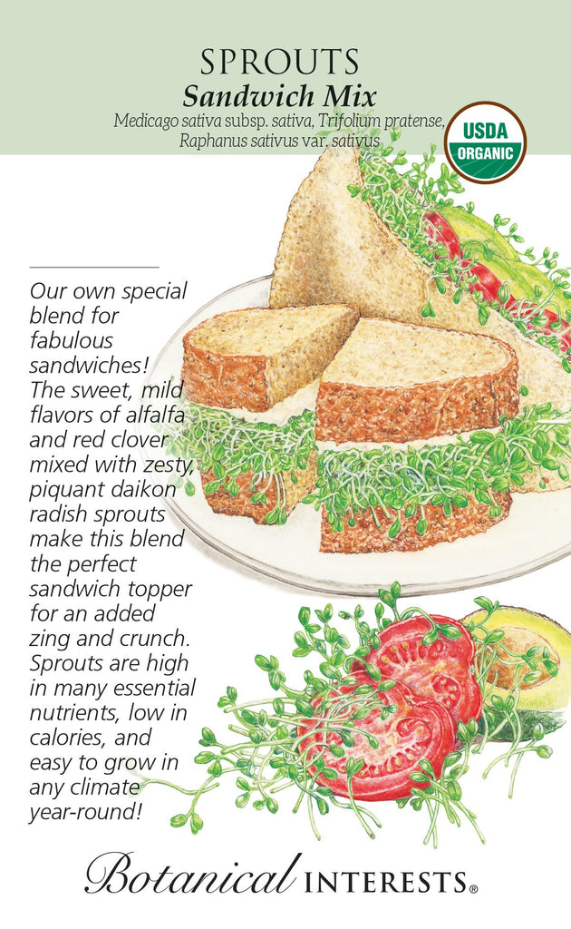 Sprouts Sandwich Mix Organic