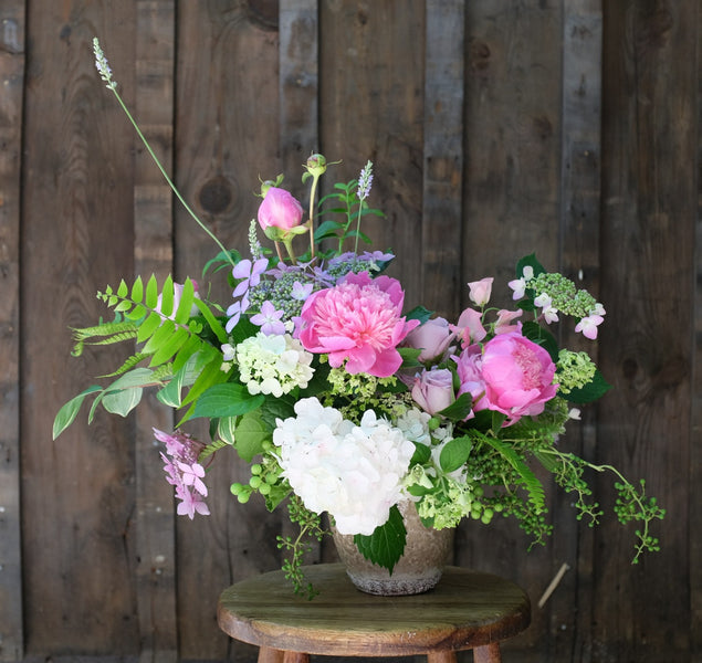Ashland Peony Flower Arrangement | Designed by Michler's Florist in Lexington, KY