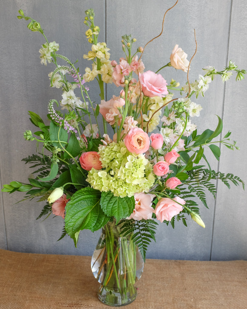 Tall and Elegant flower bouquet by michler florist.