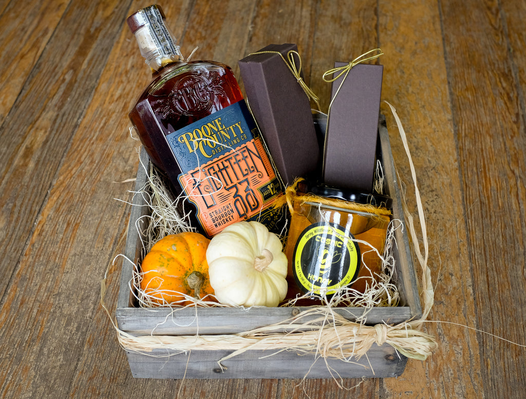 Autumn Bourbon Gift Crate