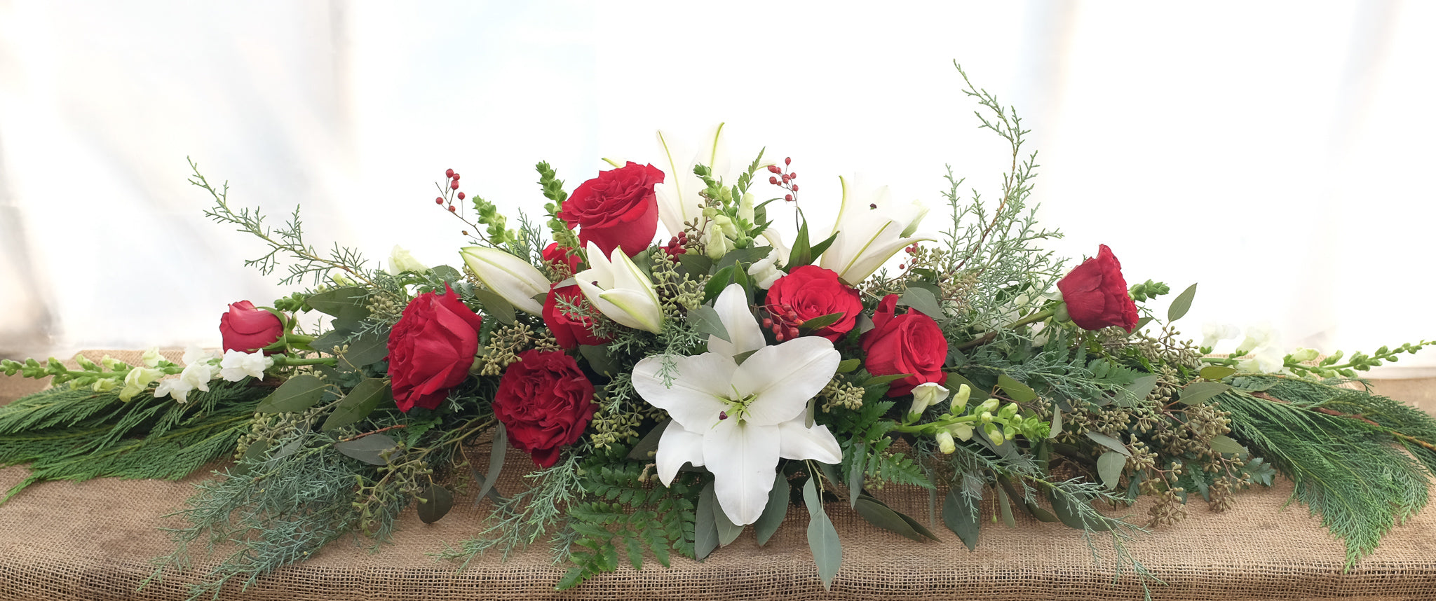Madame Cherie Christmas Centerpiece By Michler S Florist