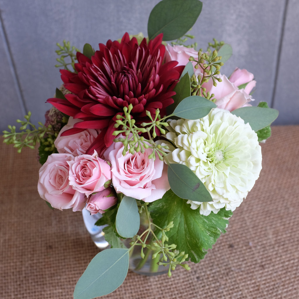 Small flower bouquet by Michler Florist, Lexington KY.
