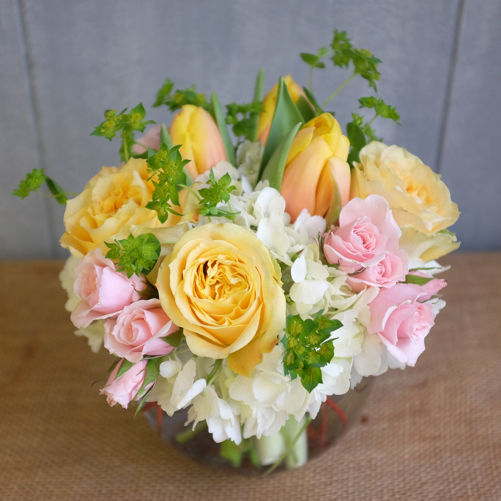 Spring bouquet by Michlers Florist