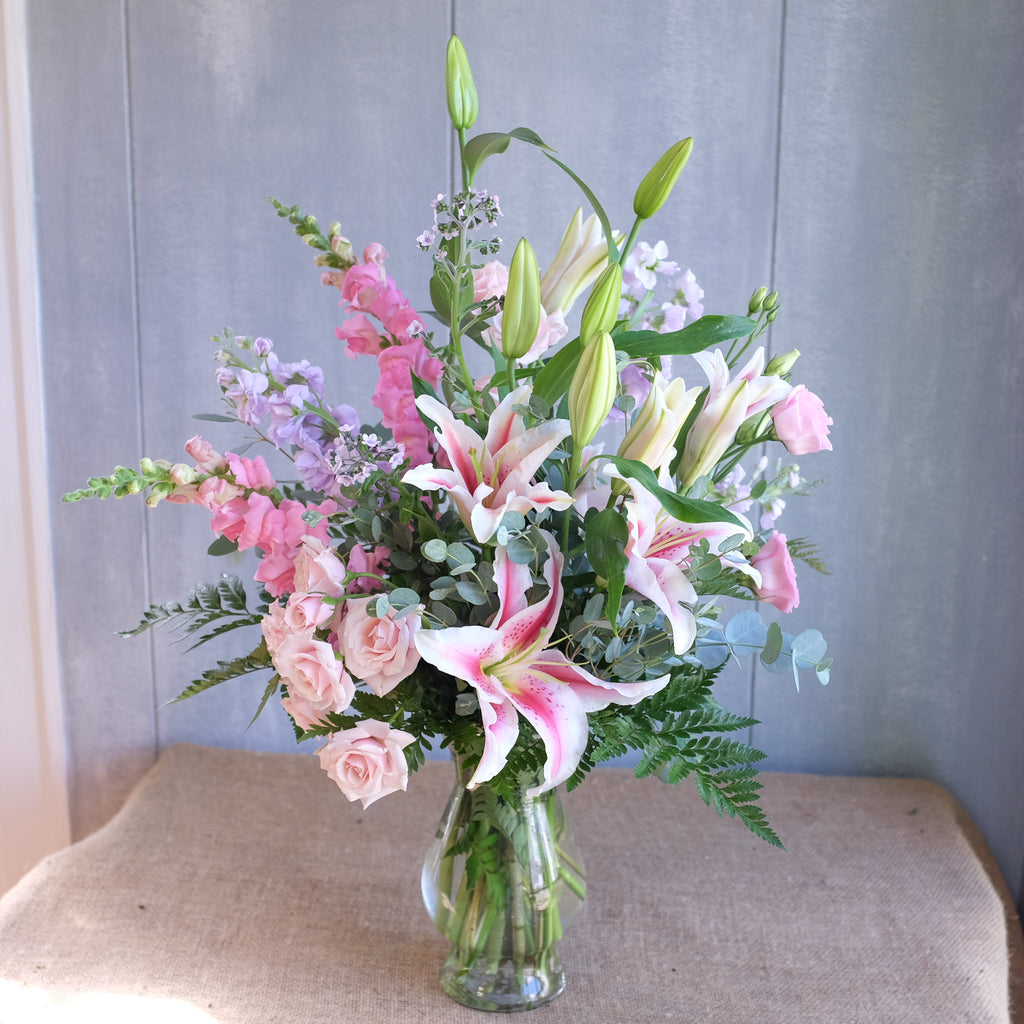 Flower bouquet by Michler Florist, Lexington KY.