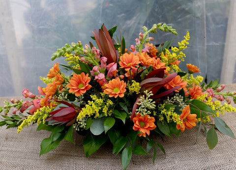 Madame Chrysanthemum: Thanksgiving Floral Centerpiece | Michler's Florist