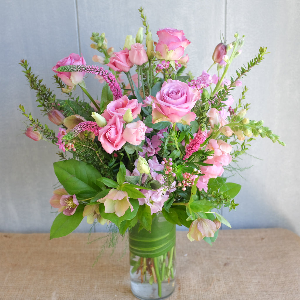 Feminine tone Flower bouquet by Michlers Florist