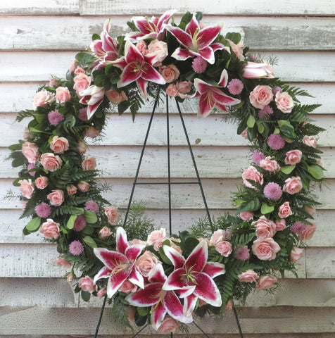 Custom Floral Wreath