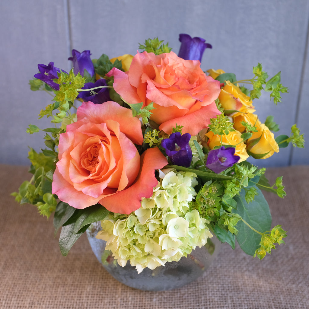 Cheerful flower bouquet by Michler Florist.