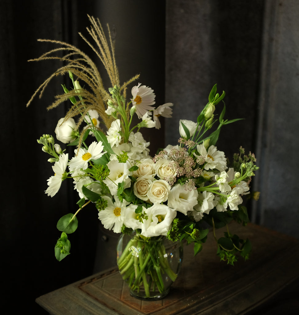 Naturalistic Flower bouquet by Michler Florist.