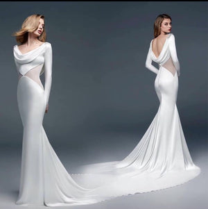 Diamond Waist Wedding Dress