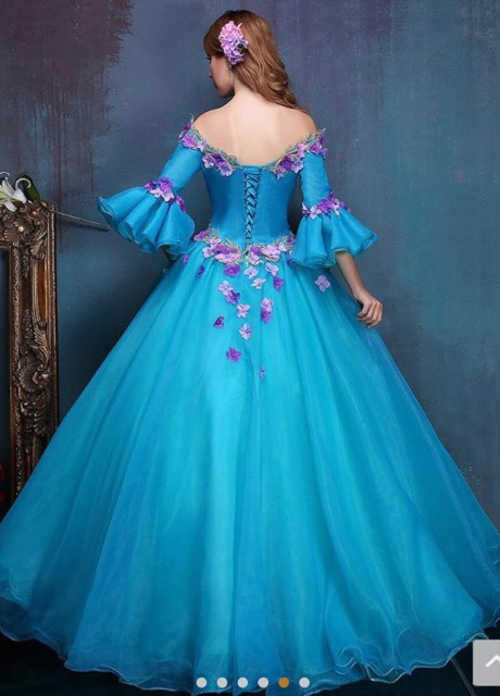 Quinceañera Blue Dress