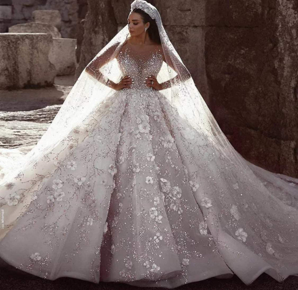 Pomp Wedding Dress
